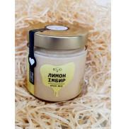 Крем-мед лимон-имбирь, BDJO.honey 300г