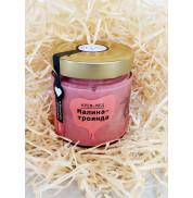 Крем-мед малина-роза, BDJO.honey 300г
