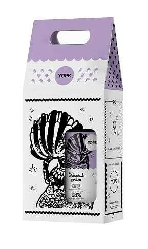 Подарочный набор Шампунь и кондиционер сухих для волос Восточный сад Yope