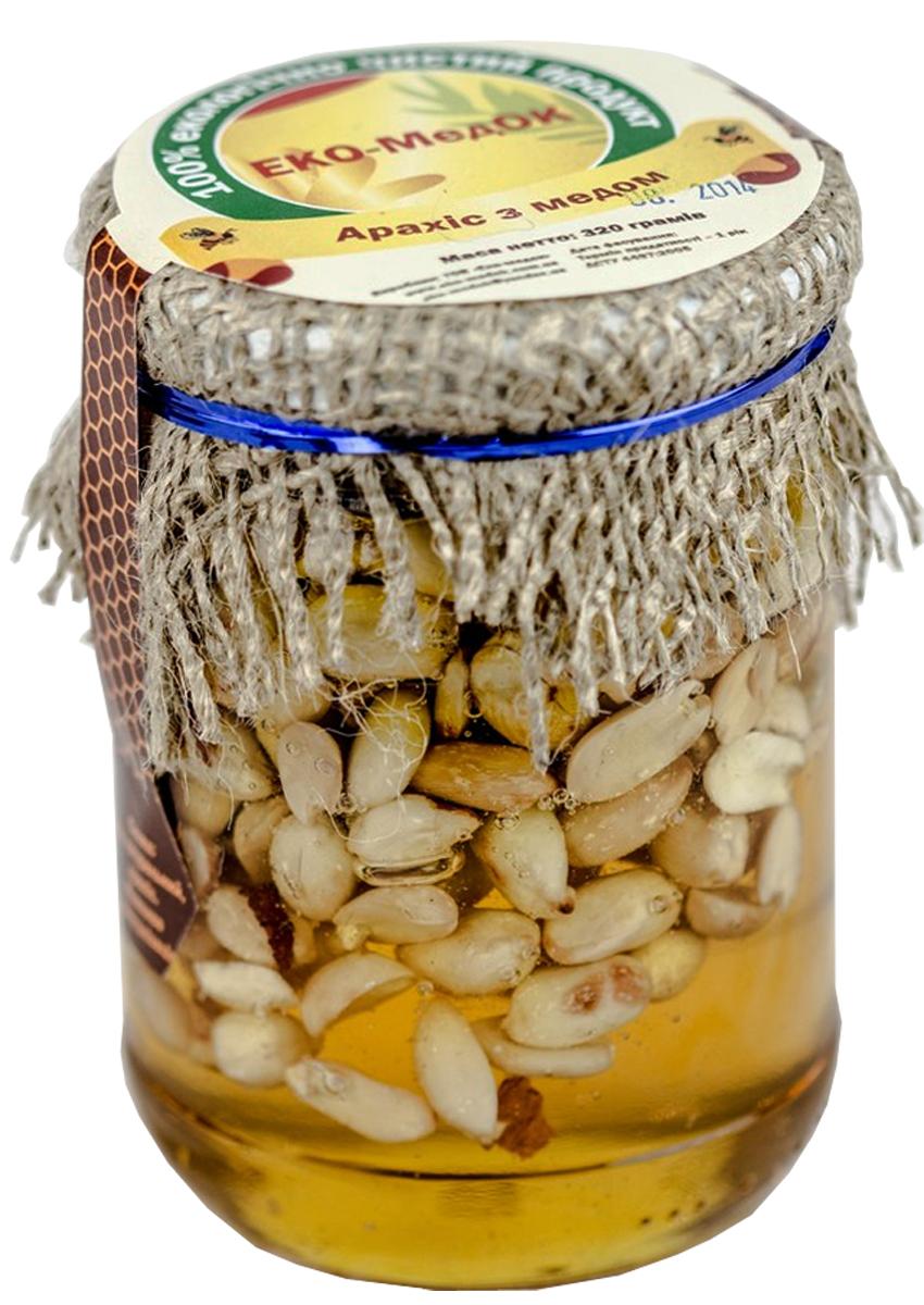 Мед с арахисом, Эко-медок 320г