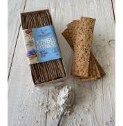 Хлебцы фитнес без сахара ржаные семенами льна Ай Да Бэйкер 120г
