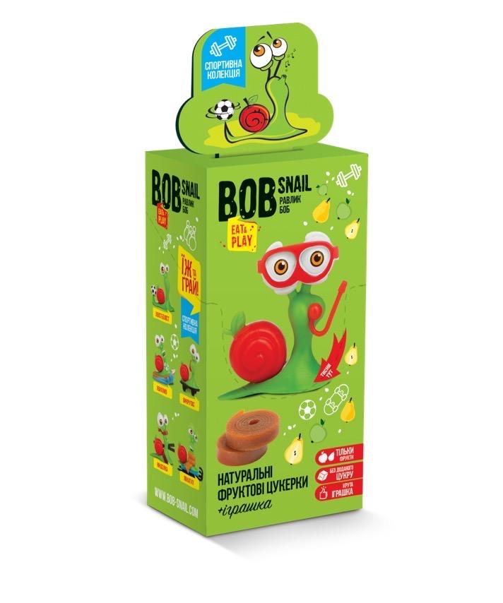 Набор пастила яблоко-груша + игрушка, Bob Snail 20г