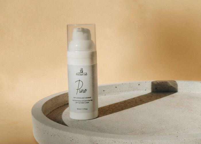 Крем-бустер противовоспалительный для чувствительной кожи Pure Ptuchkin sad 50мл