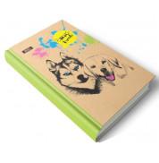 Дневник недатированный Best friands с ЭКО бумаги 192 листов А5 твердая обложка Мицар