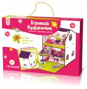 Конструктор деревянный кукольный домик Ранок