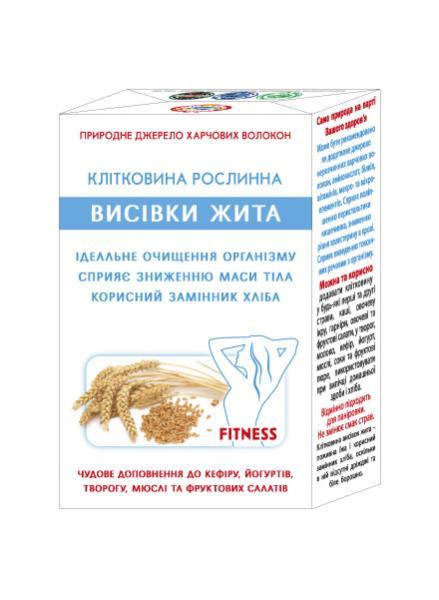 Клетчатка отрубей ржи Агросельпром 160 г