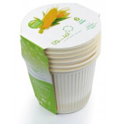 Биоразлагаемая одноразовая посуда Ведерки Amelon 1 л/6 шт