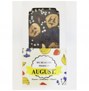 Шоколад на кэробе без сахара С фруктами и орехами August 100 гр
