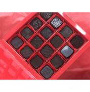 Конфеты на кэробе без сахара Пралине Арахис-Финик (коробка) August 120 гр