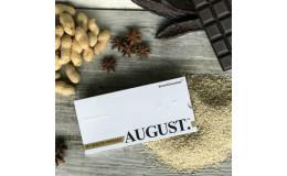 Шоколад на кэробе без сахара С кунжутом и арахисом August 80 гр