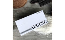 Шоколад на кэробе без сахара С кокосом и ванилью August 80 гр