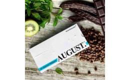 Шоколад на кэробе без сахара С киви, мятой и кедровым орехом August 80 гр