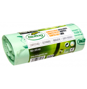 Пакеты для мусора биоразлагаемые рулон Bio Bag 30 л