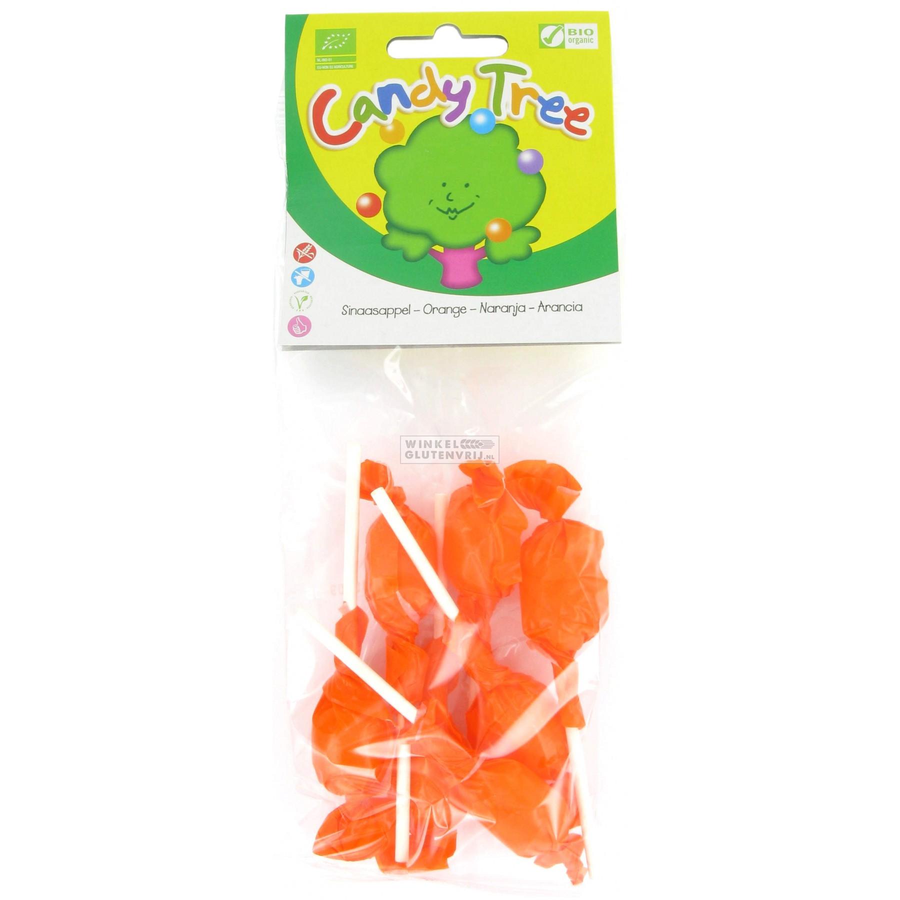 Конфета леденец на палочке Апельсин Candy Tree 10 г