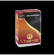 Краска для волос Хна лечебная цвет Черный Chandi 100 г