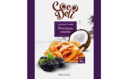 Кокосовые чипсы с черносливом Coco Deli 30 г