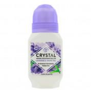 Дезодорант роликовый с ароматом лаванды и белого чая Crystal 66 мл