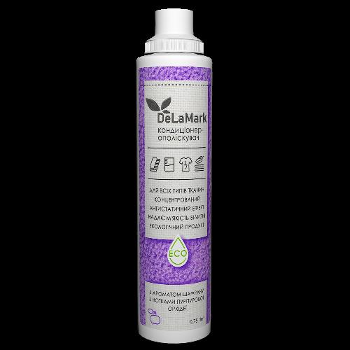 Кондиционер ополаскиватель Шафран и орхидея (Royal Powder) DeLaMark 750 мл