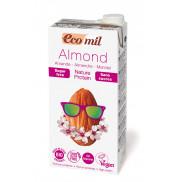 Молоко миндальное без сахара с протеином EcoMil 1 л