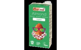 Молоко миндальное с сиропом агавы EcoMil 1 л
