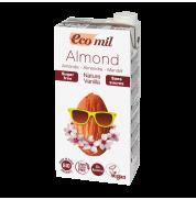 Молоко миндальное с сиропом агавы и ванилью EcoMil 1 л