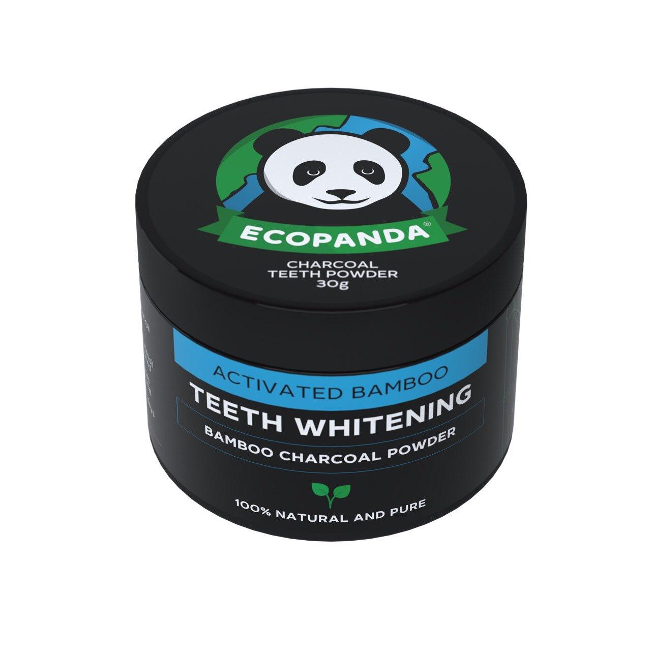 Зубной порошок Отбеливающий Ecopanda 30 г