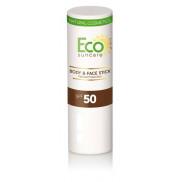 Карандаш для чувствительных участков кожи натуральный солнцезащитный SPF 50 Eco SunCare 17 г