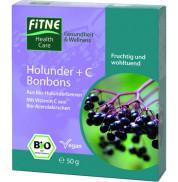 Леденцы органические Витамин С и Бузина Fitne 20 шт