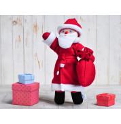 Игрушка вязанная кукла Дедушка Мороз Фрея