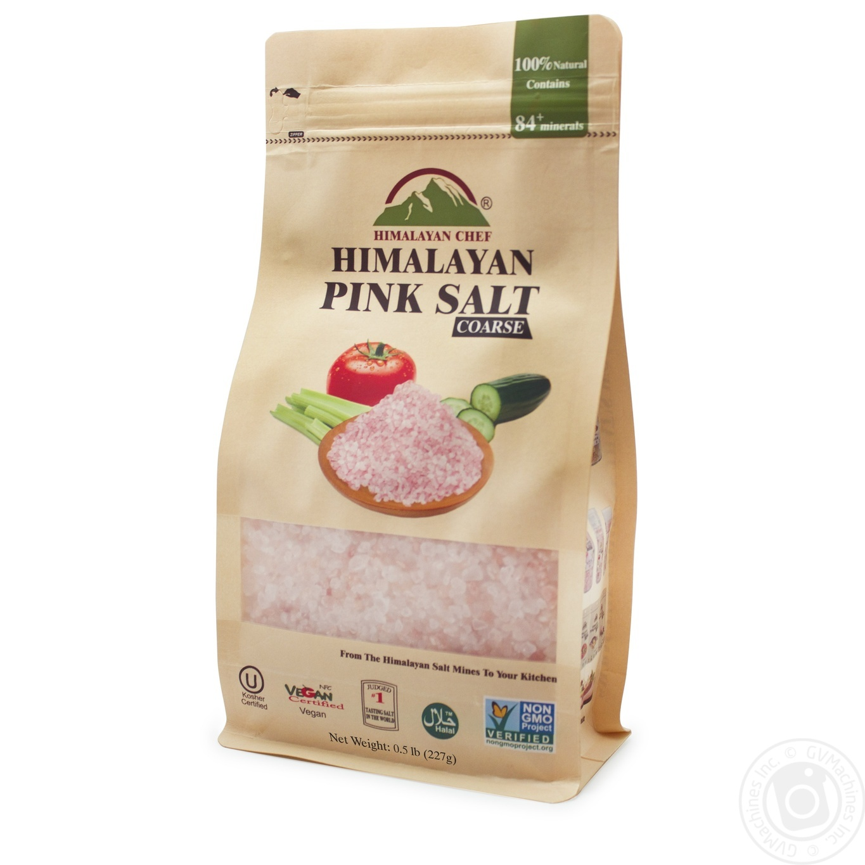 Соль розовая гималайская Крупная Himalayan Chef 227г