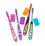 Зубная щетка детская 6-9 лет с колпачком Jordan мягкая