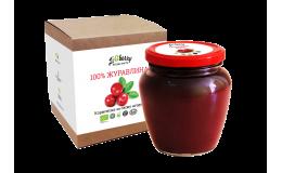 Паста клюквенная LiQberry 550 грамм