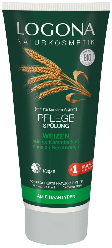 Кондиционер для волос ежедневное питание с протеинами Пшеницы Logona 200 мл