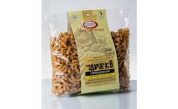 Макароны Здоровье № 9 из пшеничной муки с шротом семян льна 400 г