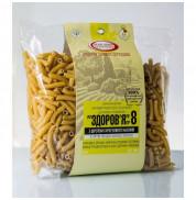 Макароны Здоровье № 8 из пшеничной муки с шротом тыквенных семян МакВар Экопродукт 400 г