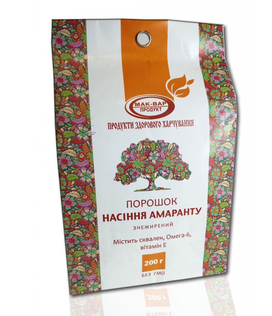 Шрот из семян амаранта МакВар Экопродукт 200 г
