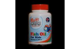 Рыбий жир из печени трески Детский в капсулах MultiCAPS 180 шт