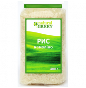 Рис камолино Natural Green 400 г
