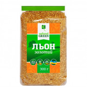 Семена льна золотого Natural Green 300 г