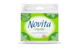 Ватные палочки Organic Novita 100 шт