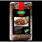 Чечевица красная (коричневая) Organic Country 400 г