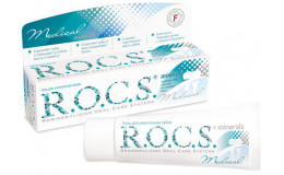 Гель для зубов Medical minerals Rocs 45 г