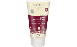 Кондиционер для блеска и объема волос с экстрактом листьев березы Sante 150 мл