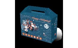 Новогодний подарочный набор полезных конфет, Живая кухня 200г
