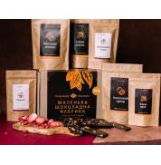 Подарочный набор для приготовления шоколада BASIC DARK BOX Базовый Шоколадная фабрика