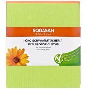Салфетка-губка для влажной уборки Sodasan 2 шт.