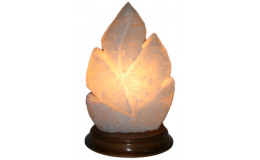 Соляная лампа Лист резной Ваше здоровье 2,1 кг