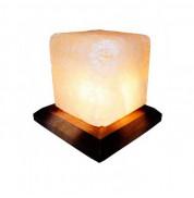 Соляная лампа Кубик Соледар 1 кг