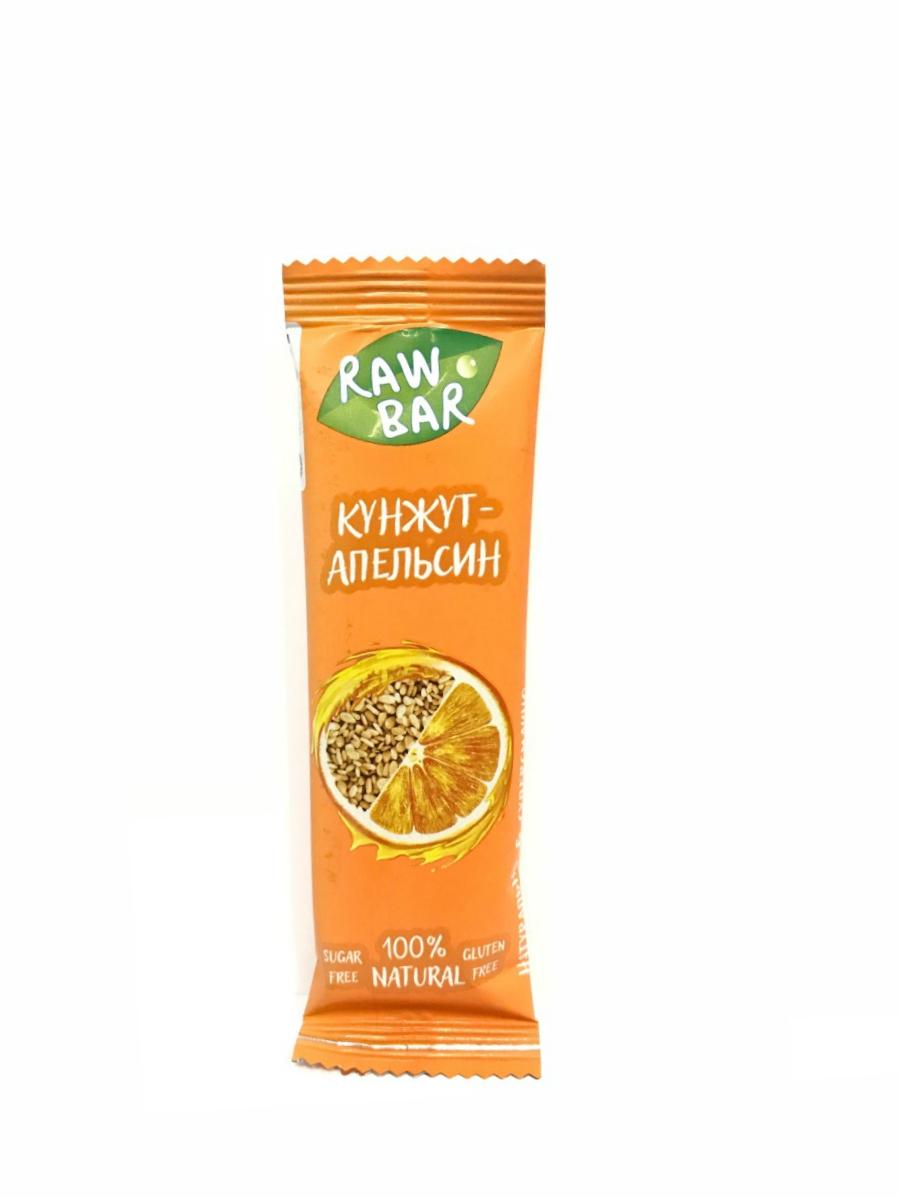 Батончик Апельсин-Кунжут Sunfill 35 г
