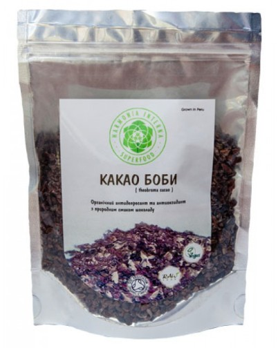 Какао бобы дробленые Supernutrients